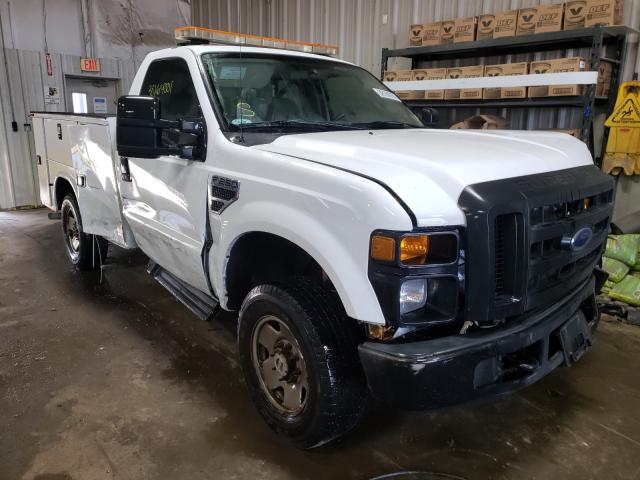 Salvage cars for sale from Copart Elgin, IL: 2008 Ford F250
