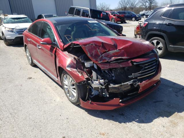 Salvage cars for sale from Copart Rogersville, MO: 2015 Hyundai Sonata Sport