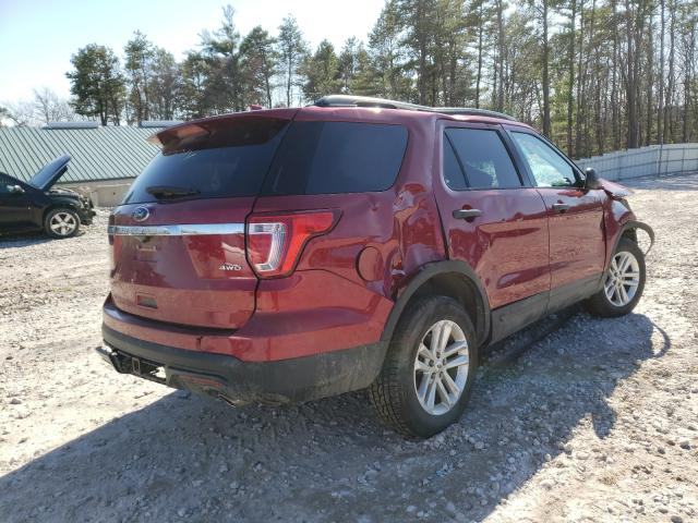 2016 FORD EXPLORER - Right Rear View