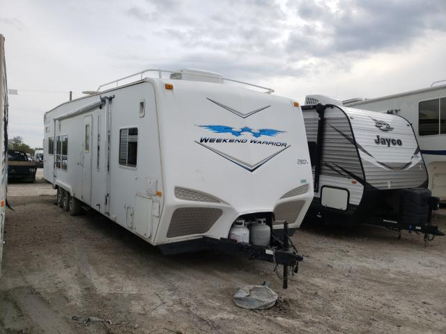 Salvage cars for sale from Copart Grand Prairie, TX: 2008 Weekend Warrior Trailer