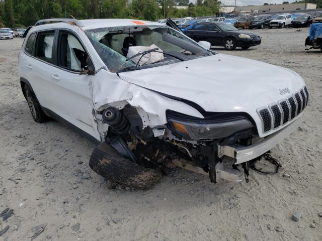 Salvage cars for sale from Copart Tifton, GA: 2021 Jeep Cherokee L