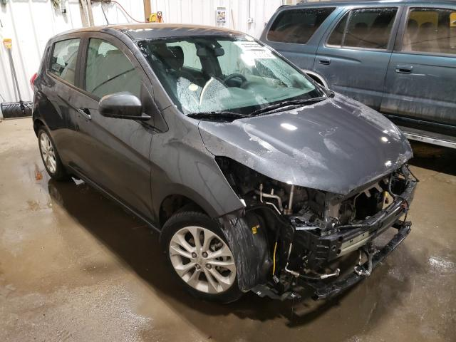 Salvage cars for sale from Copart Anchorage, AK: 2021 Chevrolet Spark 1LT