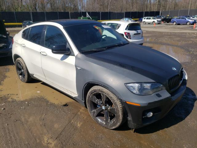 Salvage cars for sale from Copart Waldorf, MD: 2010 BMW X6 XDRIVE5