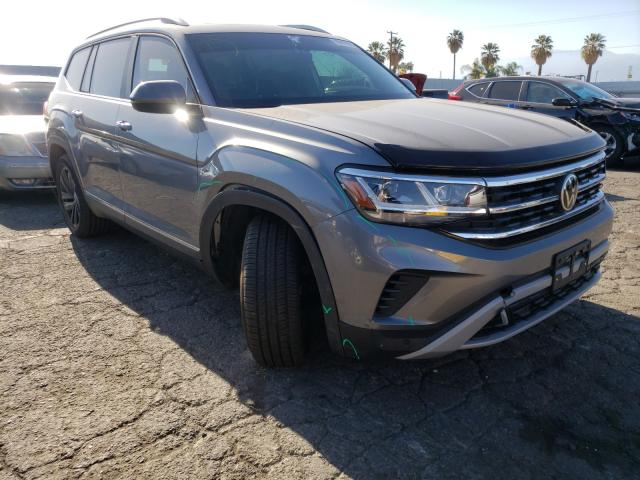 Salvage cars for sale from Copart Colton, CA: 2021 Volkswagen Atlas SEL