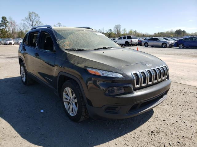 Jeep salvage cars for sale: 2015 Jeep Cherokee S
