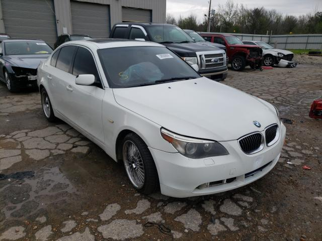 Salvage cars for sale at Memphis, TN auction: 2007 BMW 530 I