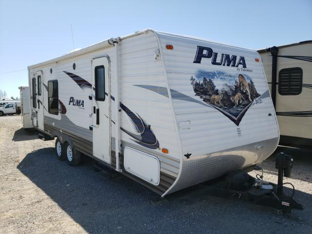 Puma salvage cars for sale: 2012 Puma Palomino