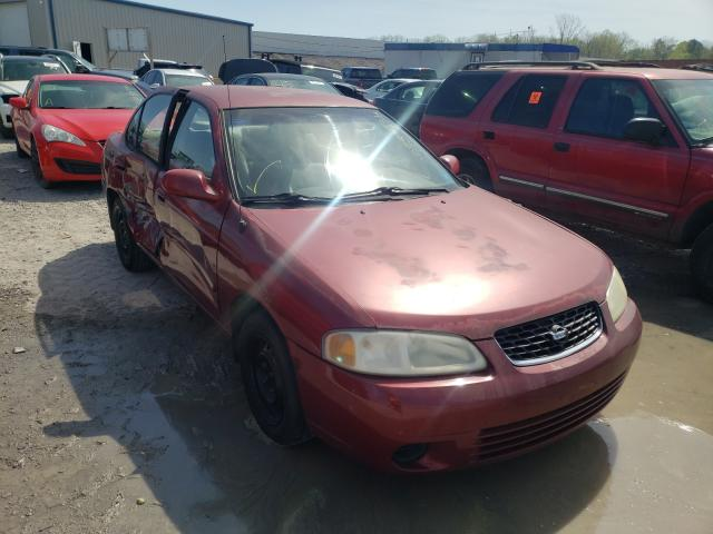 Salvage cars for sale from Copart Hueytown, AL: 2001 Nissan Sentra XE