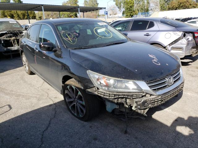 Honda Accord Sport salvage cars for sale: 2015 Honda Accord Sport