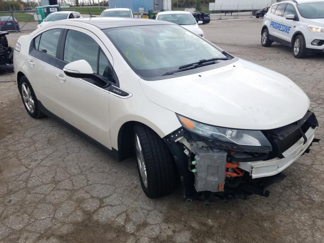 Salvage cars for sale from Copart Bridgeton, MO: 2012 Chevrolet Volt