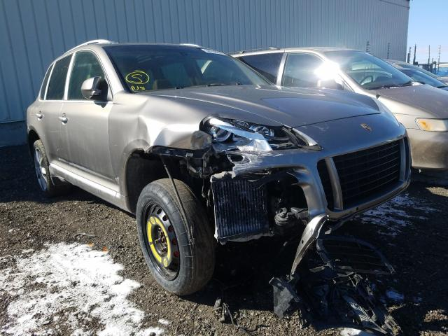 Porsche salvage cars for sale: 2008 Porsche Cayenne TU