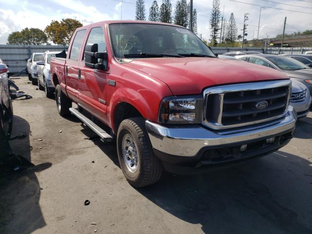 Vehiculos salvage en venta de Copart Miami, FL: 2004 Ford F250 Super