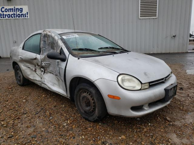Salvage cars for sale from Copart Mercedes, TX: 2001 Dodge Neon SE