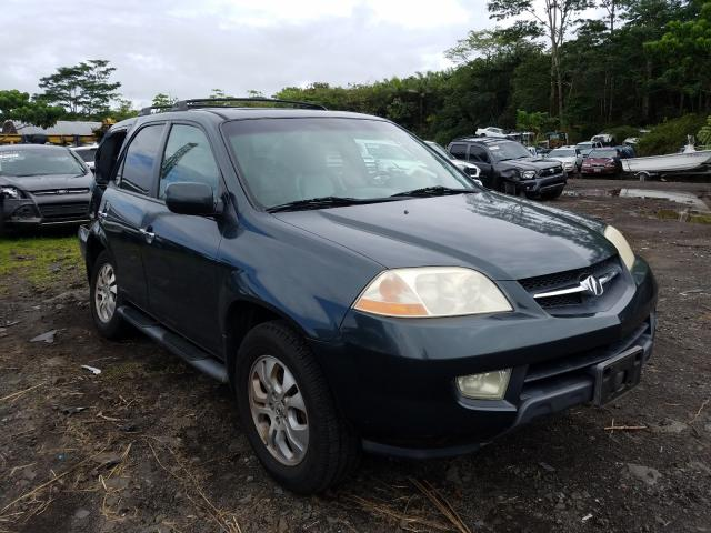 Salvage cars for sale from Copart Kapolei, HI: 2003 Acura MDX Touring