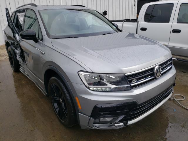 Salvage cars for sale from Copart Windsor, NJ: 2019 Volkswagen Tiguan SE