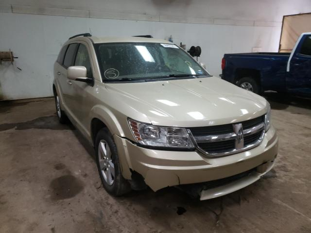 Salvage 2010 DODGE JOURNEY - Small image. Lot 38402361