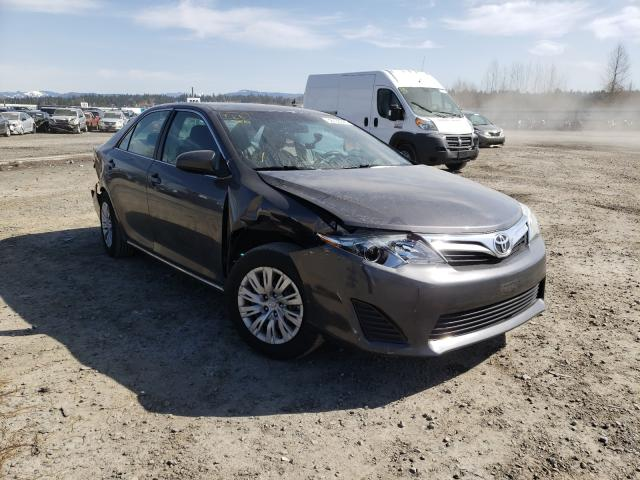 Salvage cars for sale from Copart Arlington, WA: 2012 Toyota Camry Base