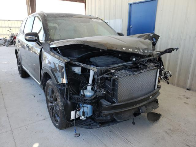 Salvage cars for sale from Copart Homestead, FL: 2021 KIA Telluride