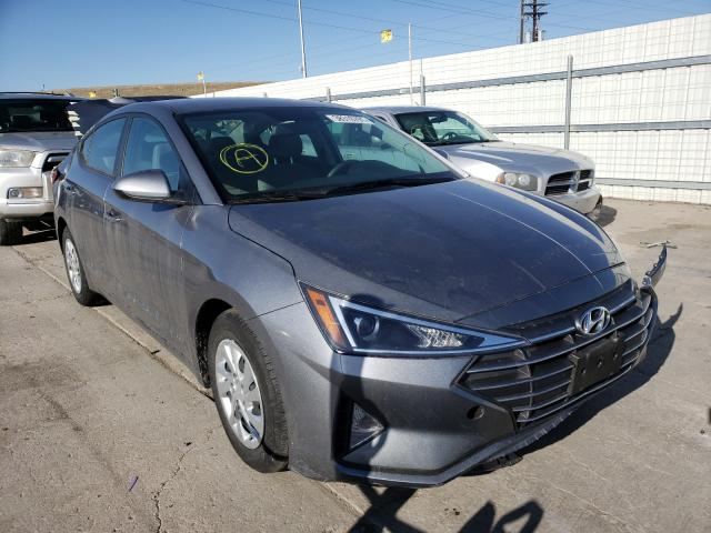 Hyundai salvage cars for sale: 2019 Hyundai Elantra SE