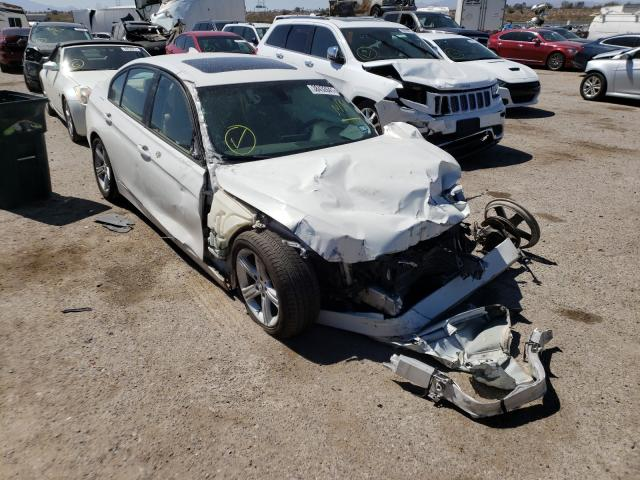 Salvage cars for sale from Copart Tucson, AZ: 2015 BMW 320 I