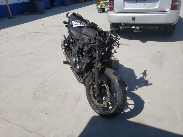 Salvage cars for sale from Copart Farr West, UT: 2014 Honda CB500 F