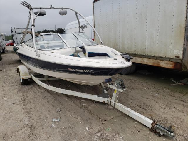 Salvage cars for sale from Copart Houston, TX: 1997 Bayliner 1850 Capri
