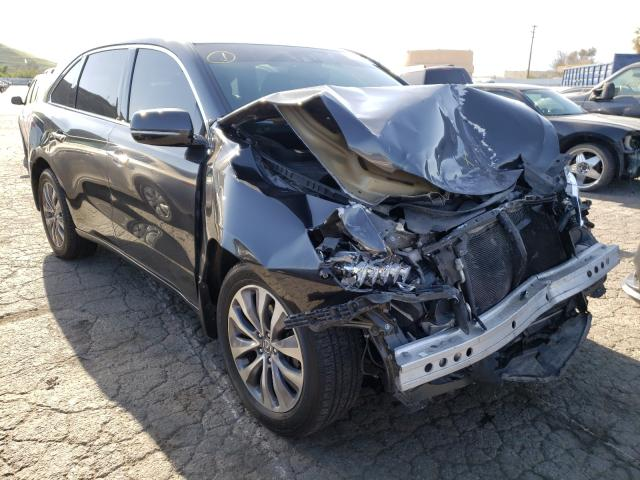 Salvage cars for sale from Copart Colton, CA: 2014 Acura MDX Techno