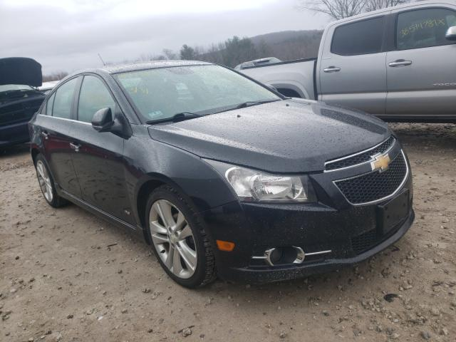 Salvage cars for sale from Copart West Warren, MA: 2012 Chevrolet Cruze LTZ