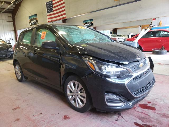 Salvage cars for sale from Copart Angola, NY: 2020 Chevrolet Spark 1LT