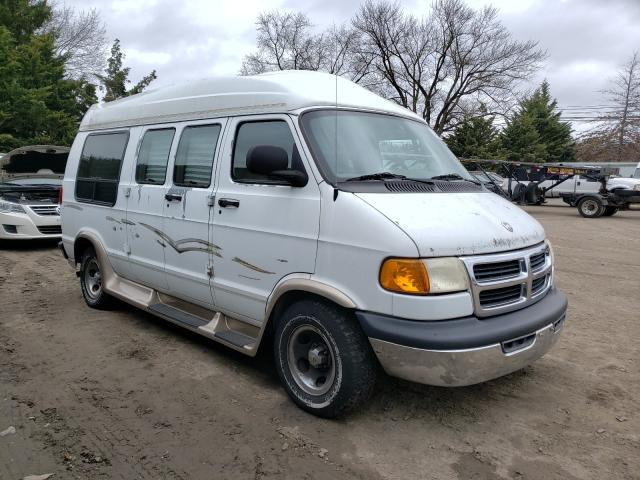 Salvage cars for sale from Copart Finksburg, MD: 1999 Dodge RAM Van B1