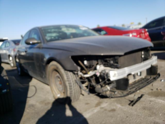 Salvage cars for sale from Copart Colton, CA: 2014 Audi A6 Premium