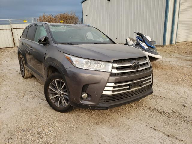 Salvage cars for sale from Copart Temple, TX: 2018 Toyota Highlander