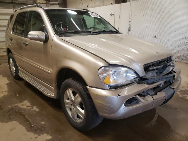 Mercedes-Benz salvage cars for sale: 2005 Mercedes-Benz ML 350