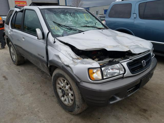 Honda Passport E salvage cars for sale: 2001 Honda Passport E
