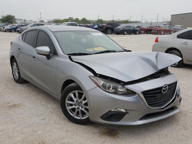 Salvage cars for sale from Copart San Antonio, TX: 2014 Mazda 3 Touring