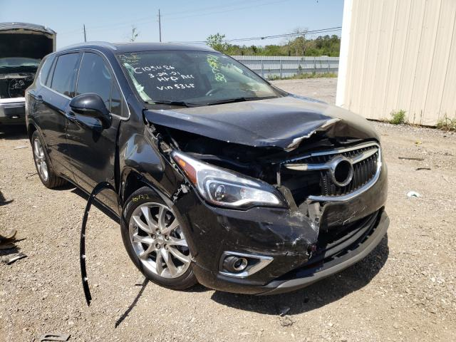 Salvage cars for sale from Copart Houston, TX: 2020 Buick Envision E