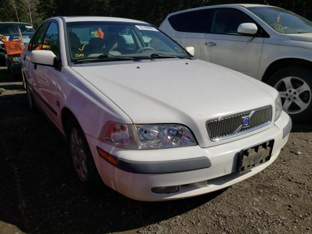 Volvo salvage cars for sale: 2002 Volvo S40 1.9T
