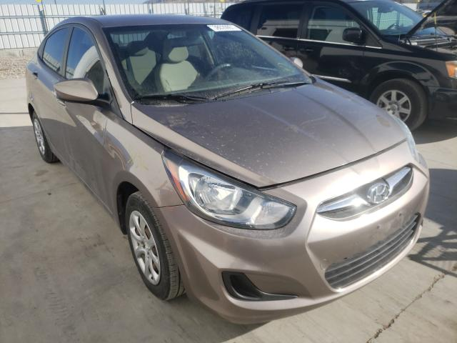 Hyundai Accent salvage cars for sale: 2014 Hyundai Accent