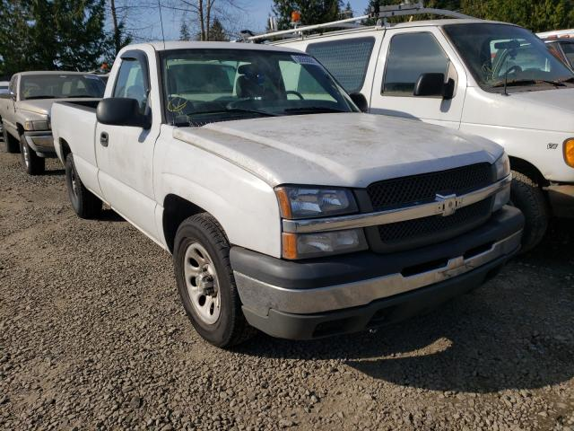 Salvage cars for sale from Copart Graham, WA: 2005 Chevrolet Silverado