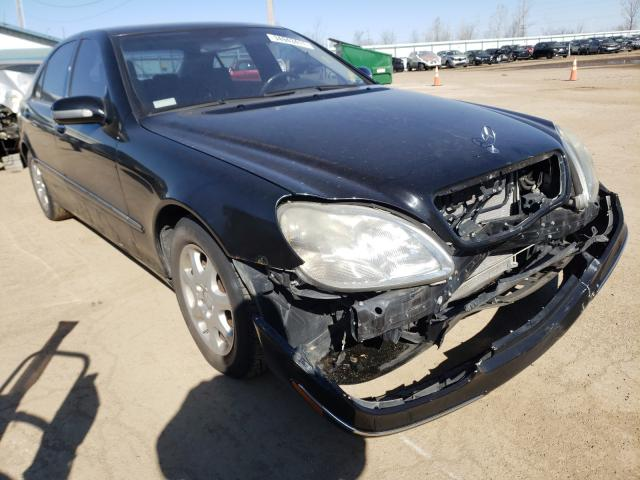Salvage cars for sale from Copart Pekin, IL: 2002 Mercedes-Benz S 430