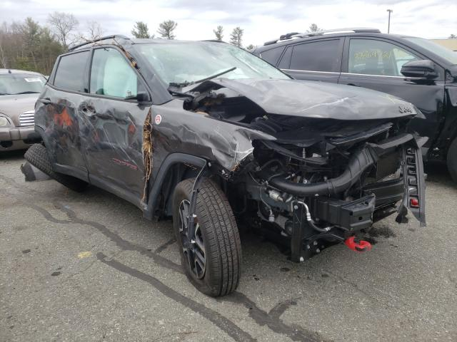Salvage cars for sale from Copart Exeter, RI: 2019 Jeep Compass TR