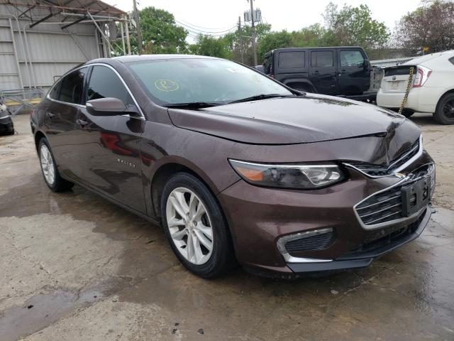 Salvage cars for sale from Copart Corpus Christi, TX: 2016 Chevrolet Malibu LT