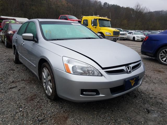 Salvage cars for sale from Copart Hurricane, WV: 2007 Honda Accord EX