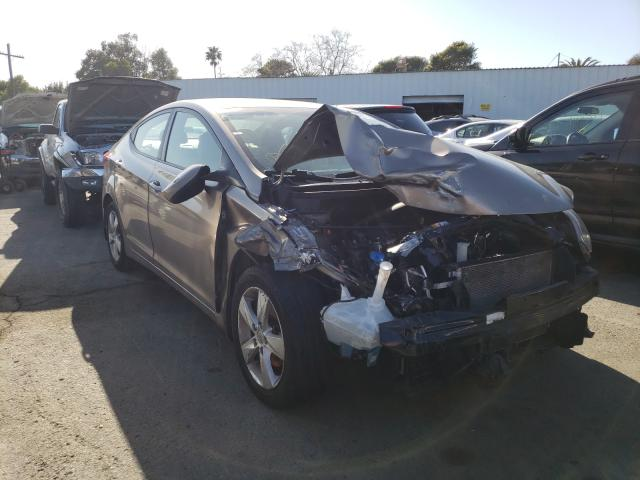 Salvage cars for sale from Copart Vallejo, CA: 2013 Hyundai Elantra GL