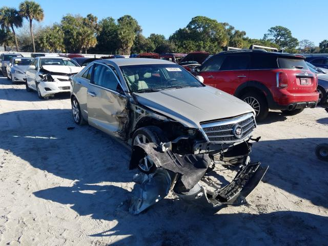 Salvage cars for sale from Copart Fort Pierce, FL: 2014 Cadillac ATS Luxury