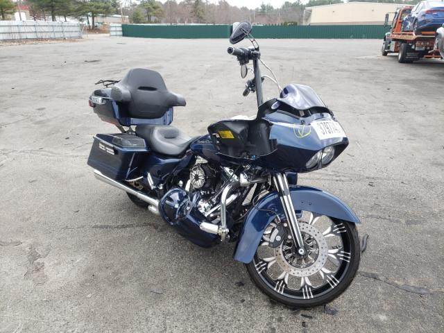Salvage cars for sale from Copart Exeter, RI: 2013 Harley-Davidson Fltrx Road