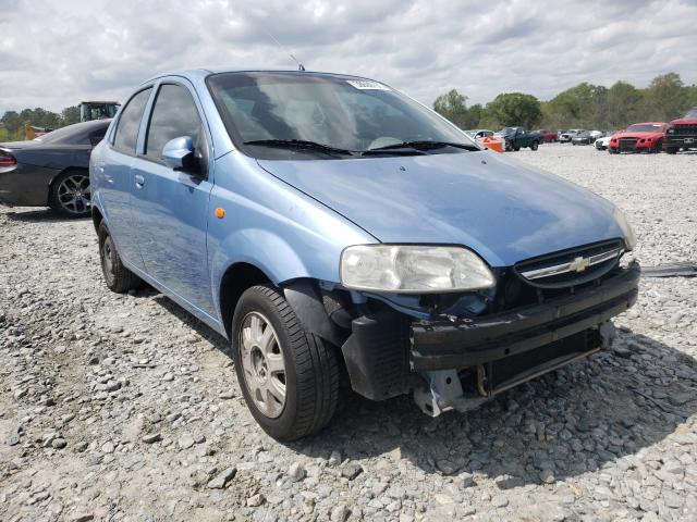 Chevrolet Aveo salvage cars for sale: 2004 Chevrolet Aveo