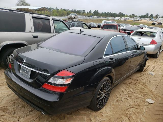 2008 MERCEDES-BENZ S 550 - Right Rear View