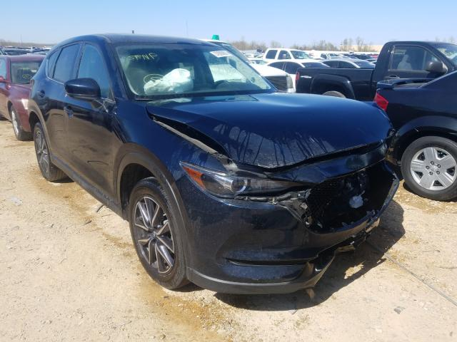 Salvage cars for sale from Copart Bridgeton, MO: 2018 Mazda CX-5 Touring