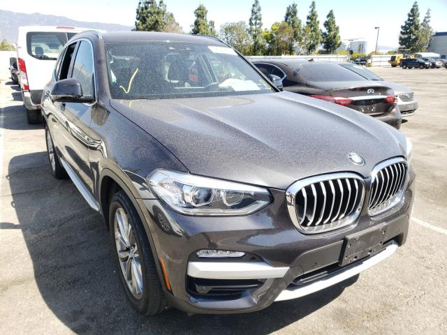 Salvage cars for sale from Copart Rancho Cucamonga, CA: 2019 BMW X3 SDRIVE3